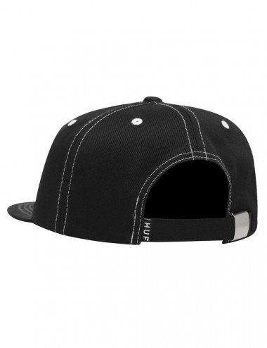 Peak contrast 6 panel hat