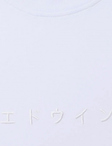 Katakana embroidery tee