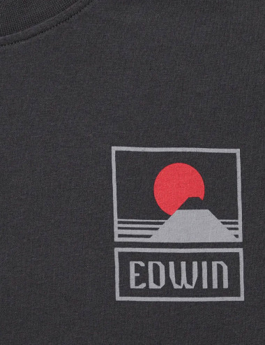 Sunset on mt fuji tee