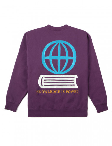 Obey knowledge crewneck