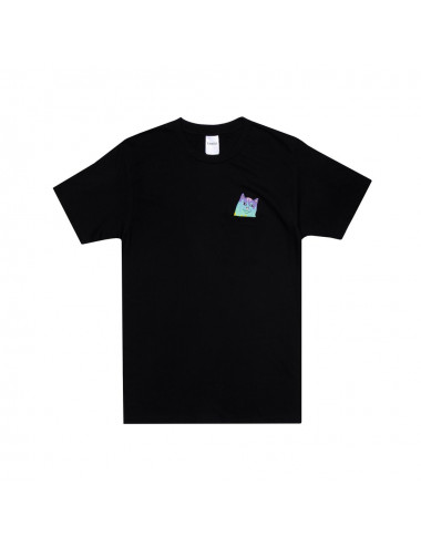 Rainbow nerm pocket t-shirt