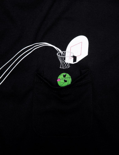 Hoops pocket t-shirt