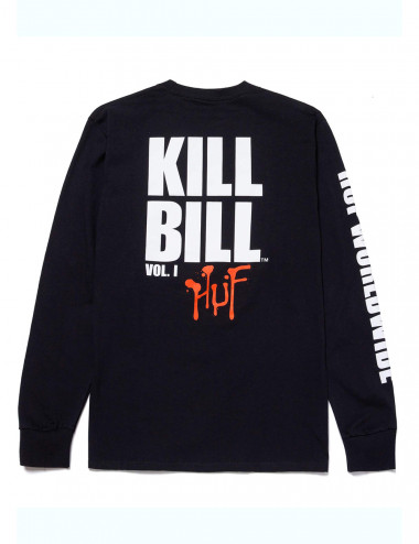 Huf Huf x kill bill black mamba long sleeve t-shirt TS01532