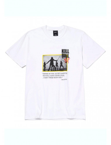 Huf Huf x kill bill death list t-shirt TS01535