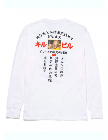Huf Huf x kill bill showdown long sleeve t-shirt TS01531