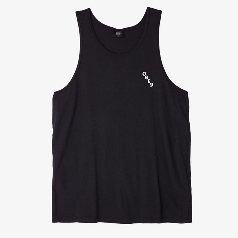 Obey Canotte Olde obey premium tank 166021413