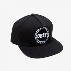 Cappellino Obey Chains snapback 100570035