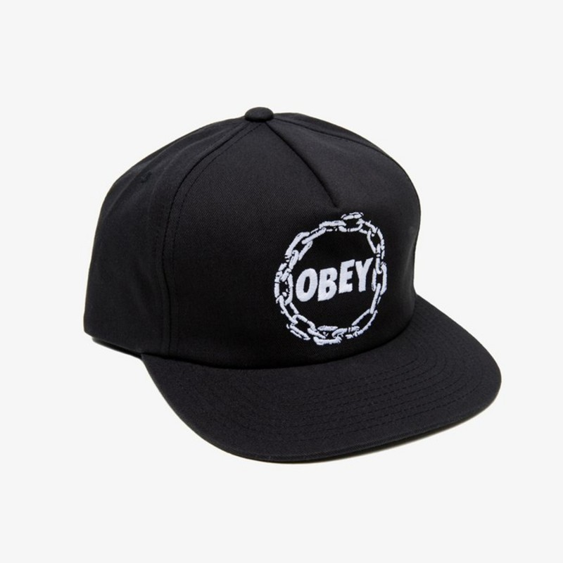 Obey Cappellino Chains snapback 100570035