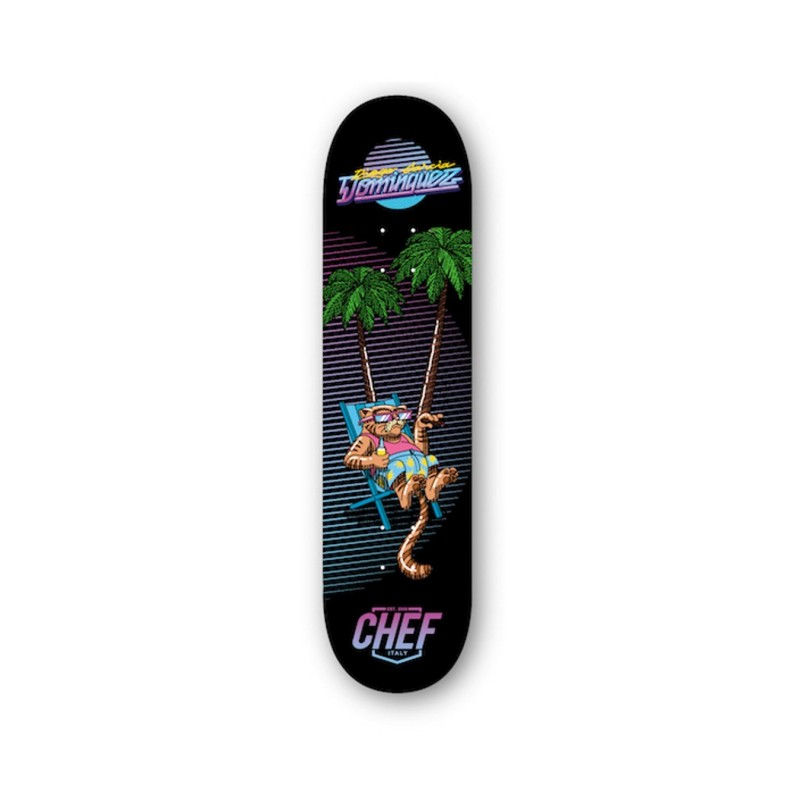 Chef Deck skate Chilling cat deck 8.125 CHEFCLNCATDECK8125