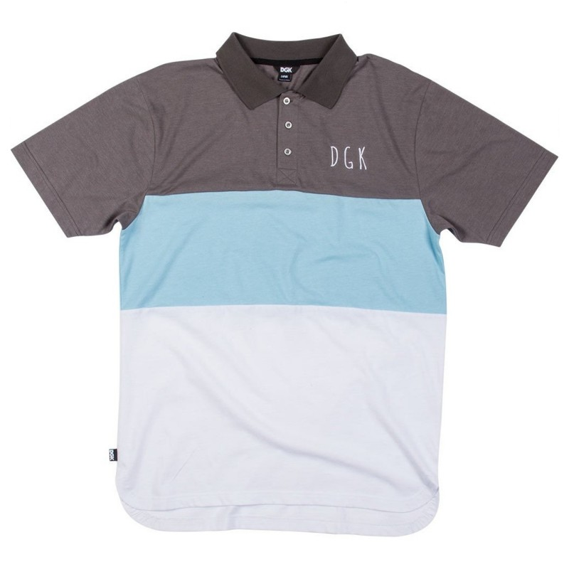 Polo Dgk Saturday custom polo E24DGKSATPOLGRY