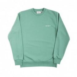 Felpe girocollo Carhartt Script embroidery sweatshirt I022917