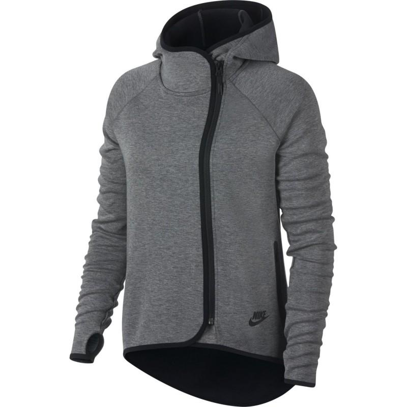 Nike sportswear Felpe nike W sportwear tech fleece cape 908822-091