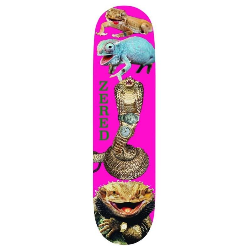 "Alltimers Deck skate Reptiles n rolexs 8.3"" ALLTRNR83"