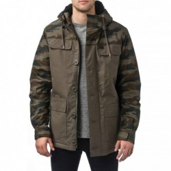 Giacche Globe Goodstock blocked parka jacket GB01637014