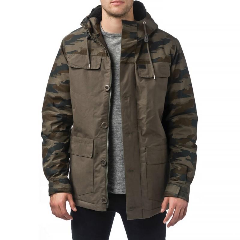 Giacche Globe Goodstock blocked parka jacket GB01637014