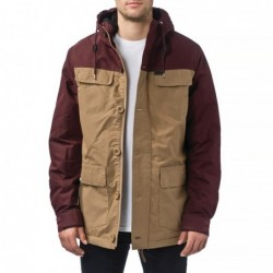 Globe Giacche Goodstock blocked parka jacket GB01637014