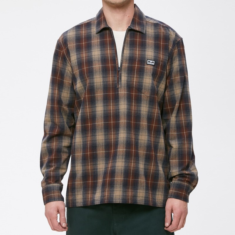 Obey Camicie Loose moves woven ls 181200199