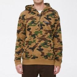 Felpe girocollo Obey Ennet anorak pullover fleece 111620030