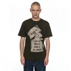 T-shirts Dc Shoes Dead above ss EDYZT03682-CSN0