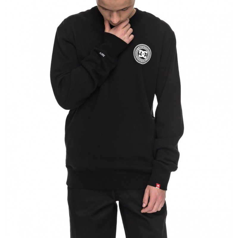 Dc Shoes Felpe dc Circle fleece crew ADYSF03016-KVJ0
