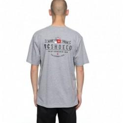 T-shirts Dc Shoes Nine four flag tee EDYZT03730-KNFH