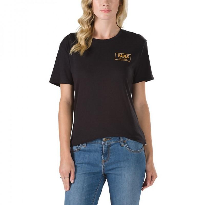 Vans T-shirts Boom boom tee VA3AKEBLK