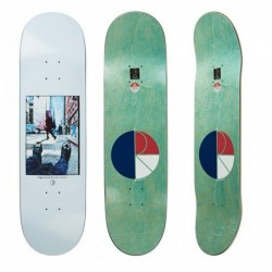 "Polar Deck skate Happy sad new york city 8.125"" POLHSNY8125"