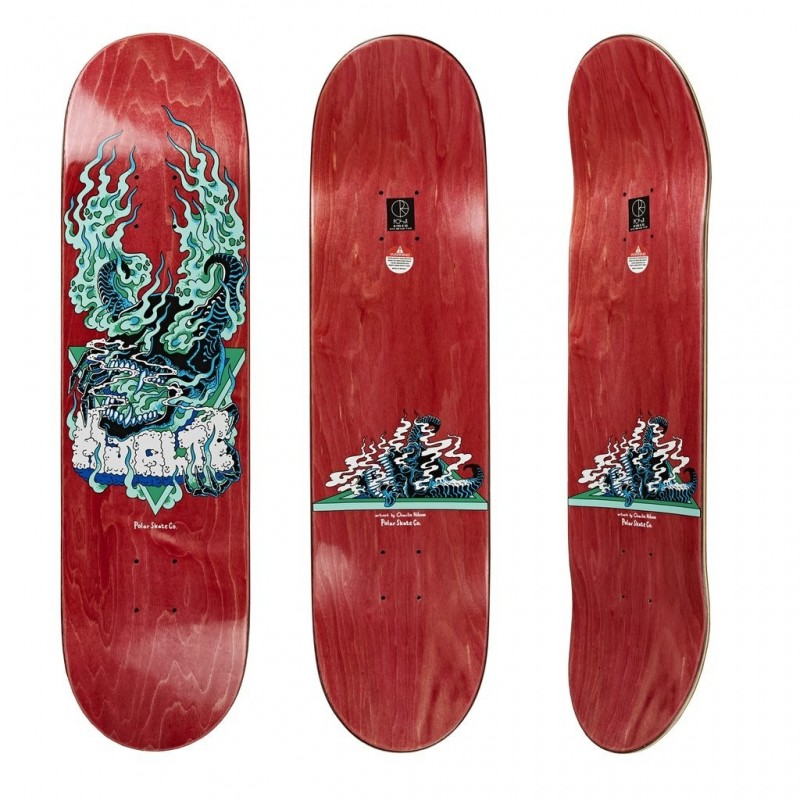 "Polar Deck skate Beast mode 8.125"" POLHHBEASTM8125"
