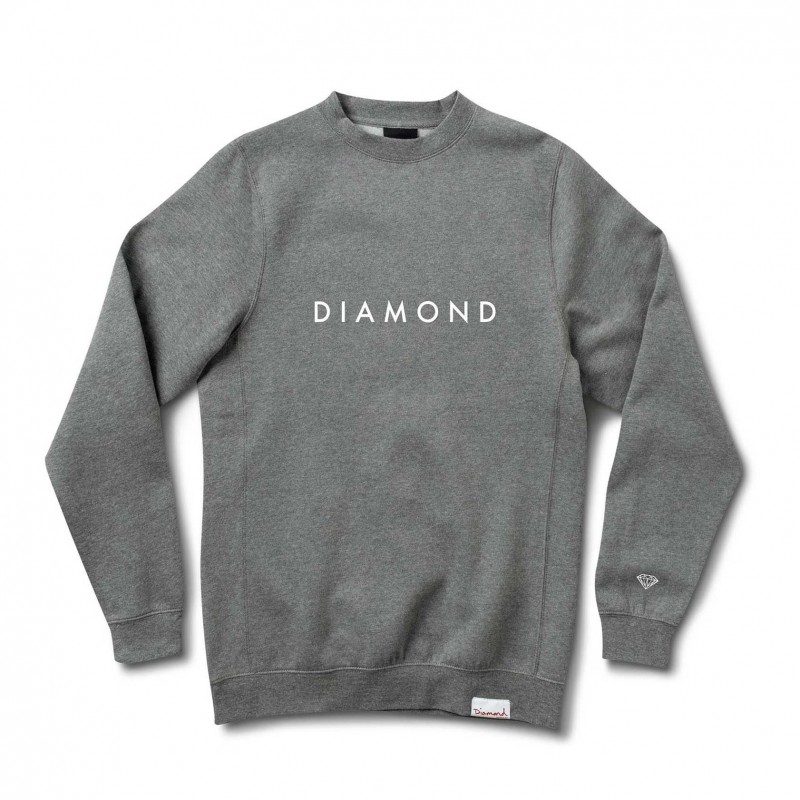 Felpe girocollo Diamond supply Futura crew E31DIAFUTCHH