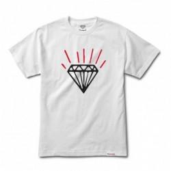 T-shirts Diamond supply Gem tee E20DIAGEWHT