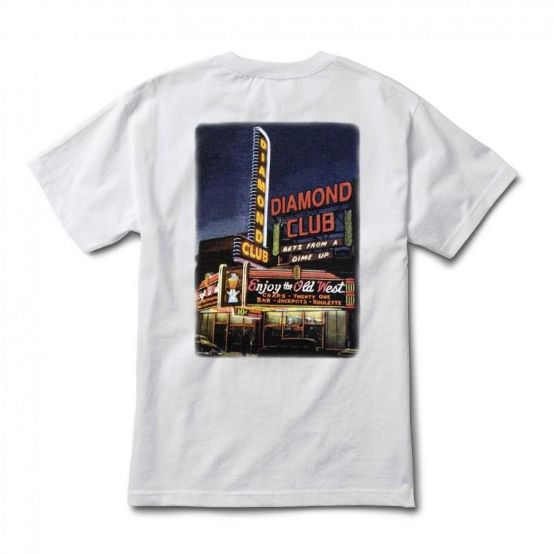 T-shirts Diamond supply Diamond club tee E20DIADICLWHT