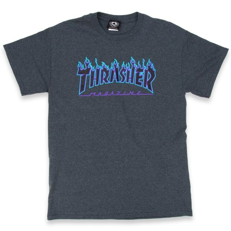 T-shirts Thrasher Flame t-shirt E20THRFLADAH