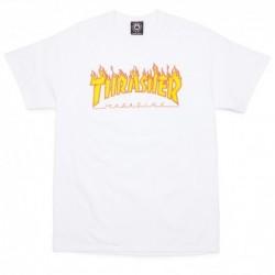 T-shirts Thrasher Flame t-shirt E20THRFLAWHT
