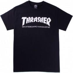 T-shirts Thrasher Skatemag t-shirt E20THRSKMBLK