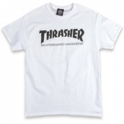 T-shirts Thrasher Skate mag t-shirt E20THRSKMWHT