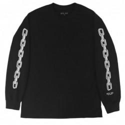T-shirt maniche lunghe Hotel blue Chain longsleeve tee HBCHLS