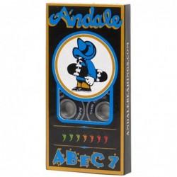 Cuscinetti skate Andale bearings Abec 7 black 5474