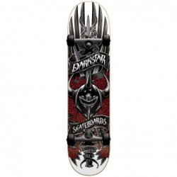 "Skate completo Almost skateboards Complete sword premium red 7.75\"" 9031"