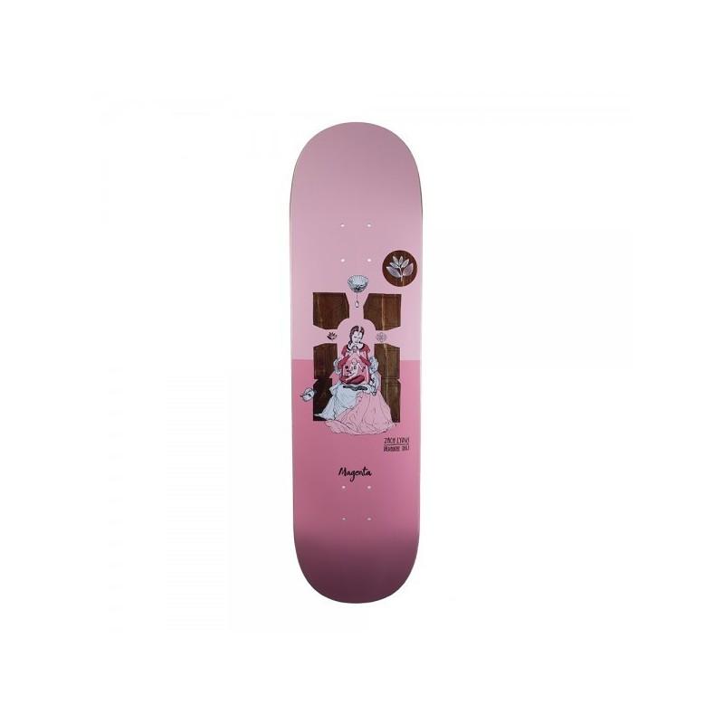 """Deck skate Magenta skateboard Zach dali 8.25\\"""" MAGZCDA825"""