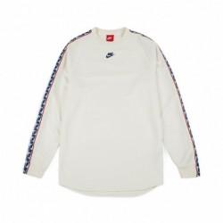 Felpe girocollo Nike sportswear Nsw taped ls top AJ2298-133