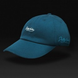 Cappellino Dolly noire Curved blue SB104