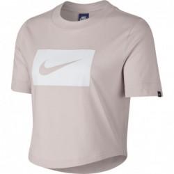 T-shirts Nike sportswear W nsw top crop swoosh AJ3765-699