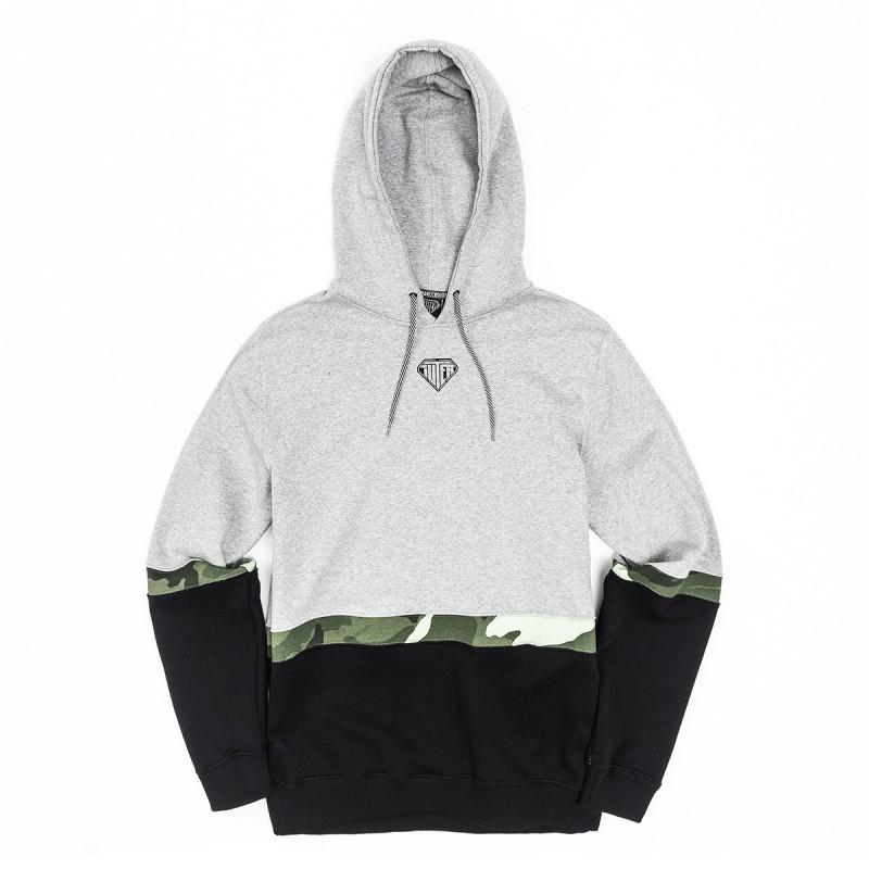 Felpe cappuccio Iuter Locut camo hoodie 18SISH22