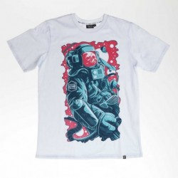 T-shirts Dolly noire Space man TS135