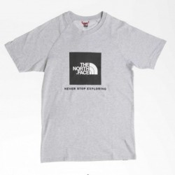 The North Face T-shirt the north face S/s raglan red box T93BQODYX