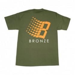 T-shirts Bronze Classic logo tee B56KCLOGOTEE