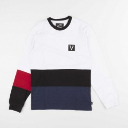 T-shirts Vans Chima colorbloc VA3HBXWHT