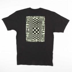 T-shirts Vans New checker VA3HFLBLK