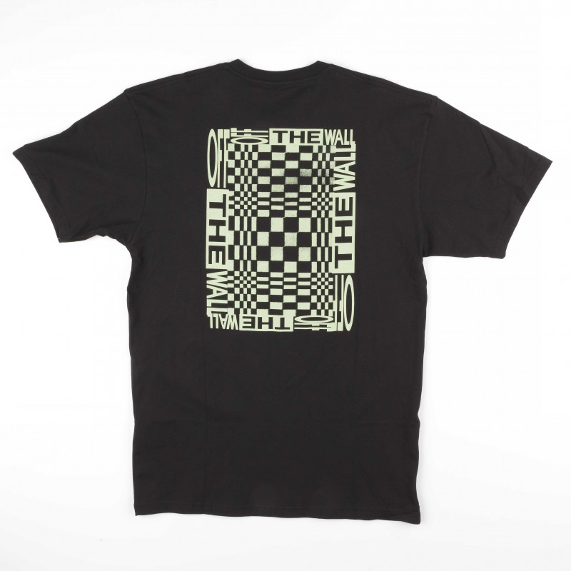 T-shirts Vans New checker VA3HFLBLK