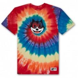 T-shirts Huf Felix hypnotize spiral ss tee TS00435